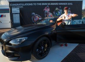 Marc Márquez con su flamante BMW M6 Coupé