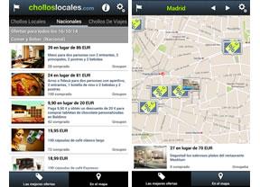 También en 2014 continua la marcha triunfal de la app de cholloslocales.com
