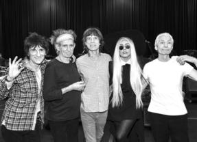 Tras Nirvana y Paul McCartney llega otro dueto estelar, Rolling Stones y Lady Gaga