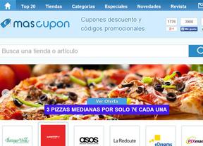 MasCupon, una apuesta por el mercado de cupones en España