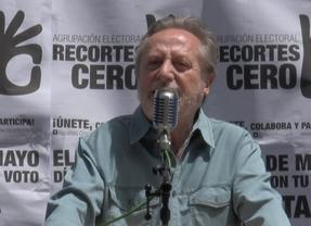 El teatro de la política cuenta con grandes actores: Manuel Galiana da mítines con 'Recortes Cero'