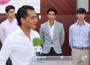 Iván Fandiño pide a los jóvenes novilleros