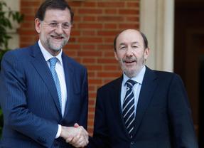 Rajoy y Rubalcaba piensan lo mismo... en fútbol: el presidente también se confiesa madridista
