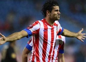 Un Atlético en racha también golea en Copa hasta sin Falcao gracias a Diego Costa: 3-0 al Getafe