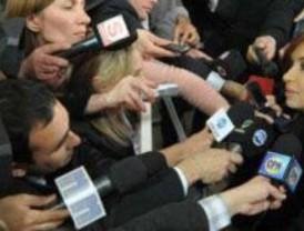 Arrasador triunfo de Cristina Fernández