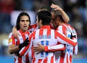 El Atlético de Madrid se impone al Villarreal por 3-0 con doblete de Falcao