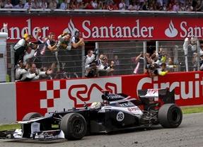 Maldonado da una sorpresa y deja segundo a Alonso que iguala a Vettel en el liderato