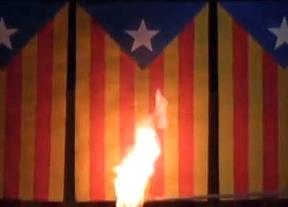 Interior ordena a la Policía detener a quienes quemen una bandera catalana o vasca