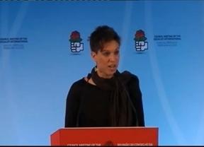Beatriz Talegón durante su intervención