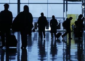 Cancelados 34 de los 182 vuelos entre Francia y España