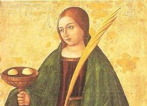 Imagen de Santa Águeda para ilustrar la opinión de Águeda del Pozo