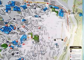 El PP denuncia que los carteles turísticos de Toledo tienen borrada parte de su información