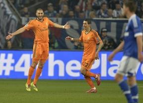 Se acabó el infierno alemán: un Madrid imperial humilla en su estadio al Schalke con un set  y una exhibición de fútbol (1-6)