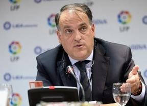 Huelga en el fútbol: la Liga contraataca con acusaciones a sus dos convocantes, Federación y sindicato de jugadores