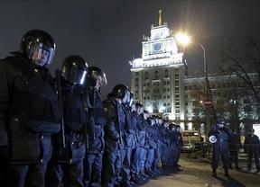 La corrupción en los comicios, razón para que miles de rusos siguan manifestándose en la calle