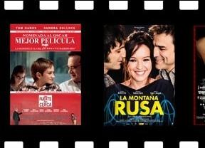 El drama familiar de 'Tan fuerte tan cerca' compite con la comedia romántica 'Montaña rusa' en los cines