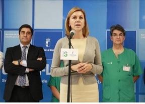 Cospedal inaugura cuatro quirófanos en Parapléjicos y el PSOE le acusa de