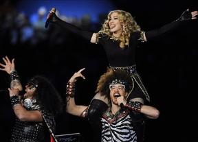 Madonna brilla con luz propia en el descanso de la Super Bowl