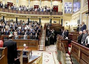 Posada, en el homenaje del Congreso: 'España nunca olvidará a sus víctimas'
