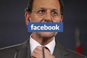 Mariano Rajoy, acosado en Facebook por 'robo y vandalismo'