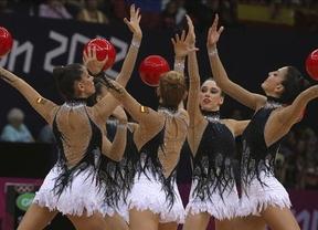 España vuelve a la élite de la gimnasia rítmica mundial con su cuarto puesto en la finalísima