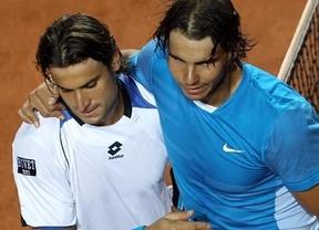 Nadal (5º) recorta puntos a Ferrer (4º) en la ATP pero ambos están muy lejos de un podio que encabeza Djokovic