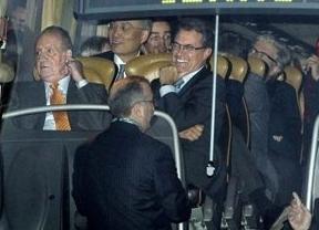 El rostro del Rey ante Artur Mas: impagable