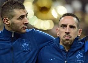 Mucho más que un partido: Ribery y Benzema se juegan una condena de tres años de cárcel