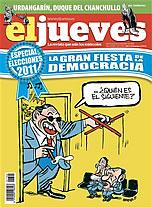 'El Jueves' deja su impronta ante las elecciones con una contundente portada