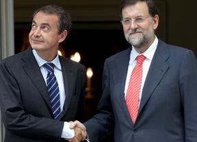 Zapatero y Rajoy se reunieron en Moncloa para completar el traspaso de poderes