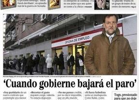 'Rajoy no volverá a la cola del paro en el INEM hasta dentro de dos años'