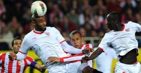 Sevilla y Atlético le echan intensidad y fuerza pero sólo sacan el botín de un punto (1-1)