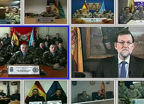 Rajoy, a las tropas en el exterior: