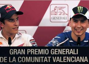 No va más: duelo a muerte deportiva en el GP de Valencia por el título mundial entre Márquez y Lorenzo