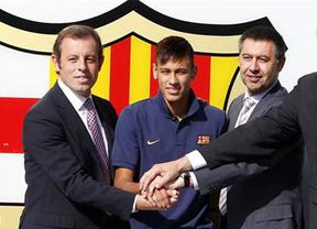 El Barça, Bartomeu y Rosell se sentarán en el banquillo por el 'caso Neymar'