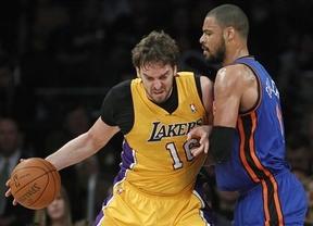 Rudy Fernández se lleva el primer duelo español ante los Lakers de Pau Gasol