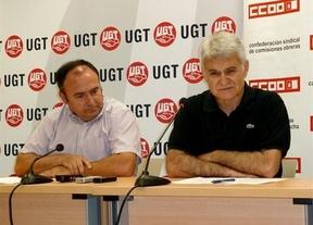 CCOO y UGT vuelven a pedir a la Junta un plan de choque por el empleo