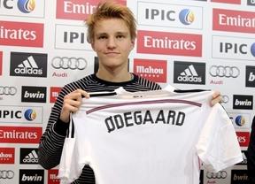 Odegaard se ofrece a jugar con el primer equipo: ''Si Ancelotti quiere, yo encantado'