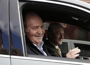 El rey retomará su agenda de Zarzuela la semana próxima