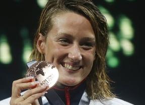 Mireia Belmonte valora que la natación da mucho... 'emocionalmente', pero 'económicamente está mal'