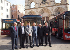 Cuenca presenta su nuevo servicio de autobuses urbanos
