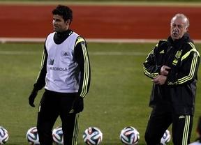 Diego Costa confía en un milagro de los médicos de la Federación para estar con La Roja en el Mundial