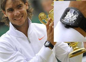 A Nadal le sale caro el Roland Garros: le roban un reloj de 300.000 euros