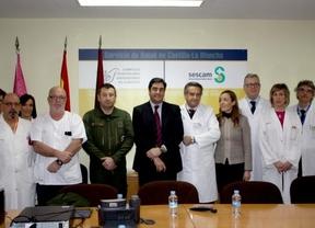 Echániz felicita a todos los sanitarios que intervinieron en el accidente del F-16 en Albacete