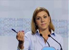 Cospedal (casi) tan optimista como Rajoy: