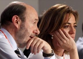 ¿Nuevo pulso socialista?: Chacón se hará la 'foto' en Madrid y Rubalcaba... en Cataluña