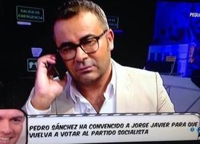 Pedro Sánchez entra en directo en Sálvame para recuperar el voto de Jorge Javier Vázquez