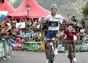 Alejandro (Valverde) vuelve a ser magno: nueva victoria de etapa ante el líder Purito y Alberto Contador