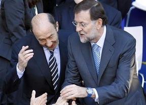 Rajoy ya 'no quiere' a Rubalcaba
