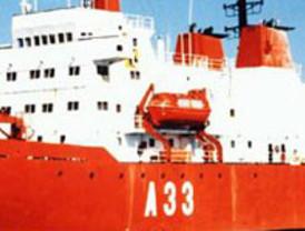 El Buque de Investigación Oceanográfica de la Armada Española Hespérides hace escala en la República de Sudáfrica